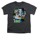 Youth: CSI-Evidence Collage T-shirts