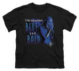 Youth: Farscape - Blue And Bald Camisetas