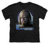 Youth: Star Trek-TNG Worf Shirt
