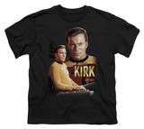 Youth: Star Trek-Captain Kirk Shirts