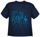 Youth: Stargate Universe-Supportng Cast T-shirts