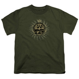 Youth: Sun Records-Rock Heraldry T-Shirt
