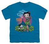 Youth: Betty Boop-Polynesian Princess T-Shirt