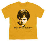 Youth: Star Trek-What Would Sulu Do Shirts