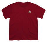 Youth: Star Trek-TNG Command Emblem Shirts