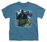 Youth: CSI-Truth Doesn't Sleep Shirts