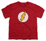 Youth: DC-Flash Logo T-Shirts