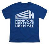 Youth: Royal Pains-Hamptons Heritage Logo T-Shirt