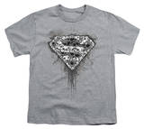 Youth: Superman-Many Super Skulls T-Shirt
