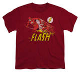 Youth: DC-Crimson Comet Shirts