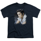 Youth: Elvis-Blue Profile Shirts