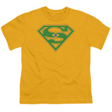 Youth: Superman-Brazil Shield T-shirts