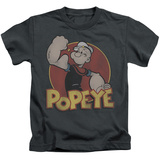 Juvenile: Popeye - Retro Ring Shirts