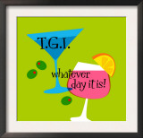 T.G.I. Whatever Day It Is Poster
