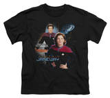 Youth: Star Trek-Captain Janeway T-shirts