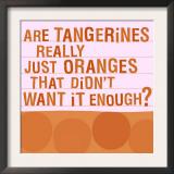 Tangerines Prints