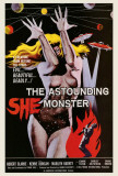 The Astounding She-Monster Posters