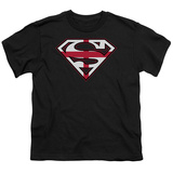 Youth: Superman-English Shield T-Shirt