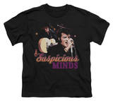 Youth: Elvis-Suspicious Minds T-shirts
