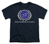 Youth: Star Trek-United Federation Logo T-Shirt
