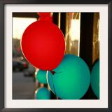 Bright Balloons Prints by Nicole Katano