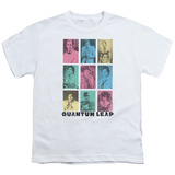 Youth: Quantum Leap-Faces Of Sam T-shirts