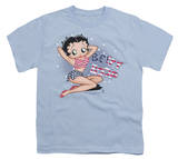 Youth: Betty Boop-All American Girl Shirts