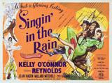 Zpívání v dešti / Singin' in the Rain, 1952 (filmový plakát vangličtině) Obrazy