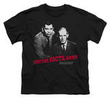 Youth: Dragnet-Just The Facts T-shirts