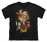 Youth: Betty Boop-Star Princess T-shirts
