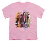 Youth: Will & Grace-Will & Grace Cast Shirt