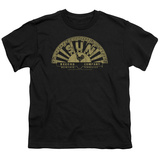 Youth: Sun Records-Tattered Logo T Shirts