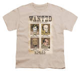 Youth: DC-Wanted Poster Shirts