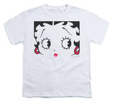 Youth: Betty Boop-Close Up Shirt