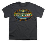 Youth: Survivor-Heroes vs. Villains T-Shirt
