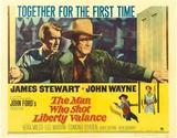 The Man Who Shot Liberty Valance - Masterprint