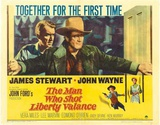 The Man Who Shot Liberty Valance Masterprint