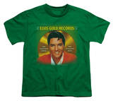 Youth: Elvis-Gold Records T-Shirt