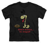 Youth: Garfield - Don't Worry Be Stupid Shirts