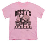 Youth: Boop - Betty's Motorcycles T-shirts