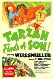 Tarzan Finds a Son Posters