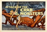 Attack of the Crab Monsters Posters