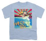 Youth: Betty Boop-Hang Ten T-Shirt