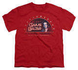 Youth: Battle Star Galactica-Elect Gaius T-Shirt