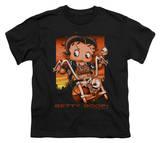 Youth: Betty Boop-Sunset Rider Shirt