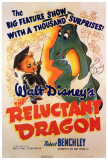 Reluctant Dragon Print
