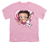 Youth: Betty Boop-I Love Betty T-shirts