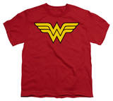 Youth: DC-Wonder Woman Logo Shirts