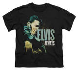 Youth: Elvis-Always The Original T-shirts