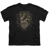 Youth: Sun Records-Scroll Around Rooster T-Shirt